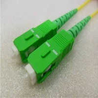 Single Mode Angled Simplex SCA  SCA (APC) OS2 8.3/125um Fibre Optic Patch Cord
