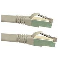 Cat6a 10G STP FTP Shielded Patch Cord Grey