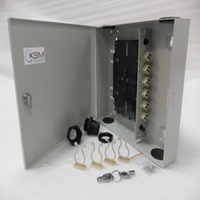 Fibre Wall Mount Unit 12 Port SC Simplex OM1 Multimode