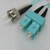 Duplex Multimode SC ST OM3 10G 50/125um Fibre optic Patch Cord