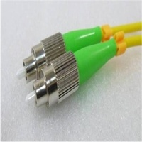 Single Mode Angled Duplex FCA FCA (APC) OS2 8.3/125um Fibre Optic Patch Cord
