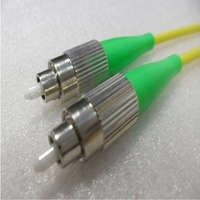 Single Mode Angled Simplex FCA FCA (APC) OS2 8.3/125um Fibre Optic Patch Cord