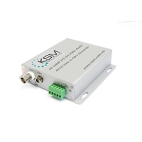 HD CVI TVI Audio 720P 1 Channel Fibre Converter Single Mode 20KM