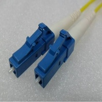 Simplex Angled LC LCA (APC) OS2 8.3/125um Fibre Optic Patch Cord  10Mtr