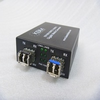 Single Mode to Multimode Converter LC 0.55K to 20K Fibre to Fibre Wavelength Converter