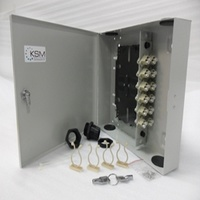 Fibre Wall Mount Unit 24 Port LC Quad OM1 Multimode