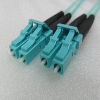Duplex Multimode LC LC OM3 10G 50/125um Fibre optic Patch Cord