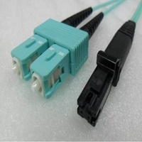 Duplex Multimode MTRJ SC OM3 10G 50/125um Fibre optic Patch Cord