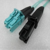 Duplex Multimode MTRJ LC OM3 10G 50/125um Fibre optic Patch Cord