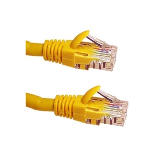 Cat6 RJ45 Patch Cord Yellow