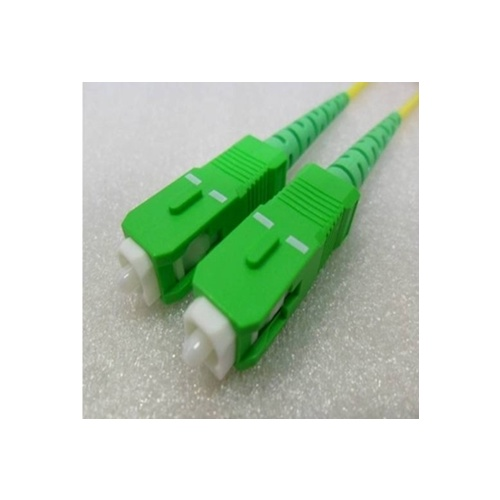 Single Mode Angled Simplex LCA LCA (APC) OS2 8.3/125um Fibre Optic Patch Cord