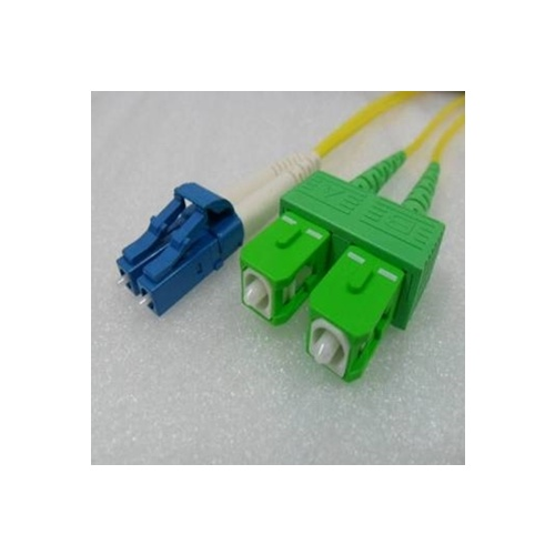 Single Mode Angled LC SCA (APC) OS2 8.3/125um Fibre optic Patch Cord