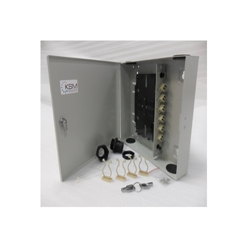 Fibre Wall Mount Unit 12 Port LC Duplex OM1 Multimode