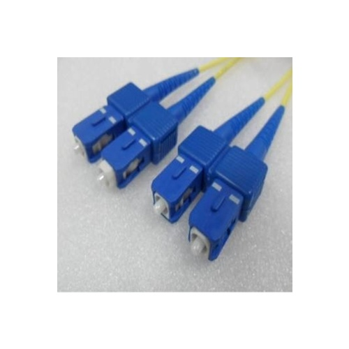 Duplex Single Mode SC SC OS2 8.3/125um Fibre Optic Patch Cord  1Mtr