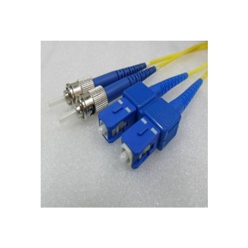 Duplex Single Mode SC ST OS2 8.3/125um Fibre Optic Patch Cord  1Mtr